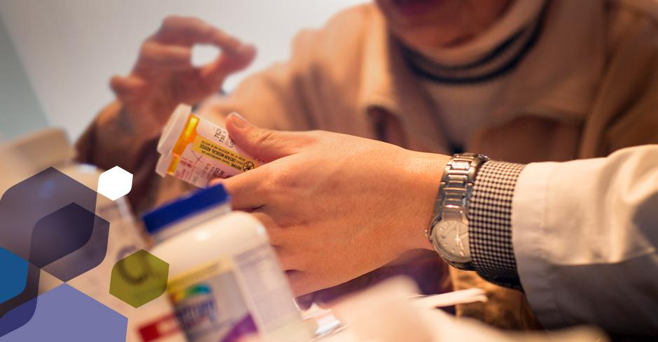 pharmacists reviewing medications